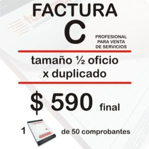 Factura C Profesional Sep18