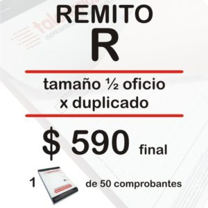 Remito R Sep18