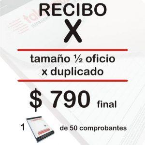 Recibo X