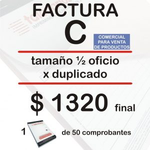 Factura C productos feb21
