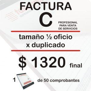 Factura C servicio Feb21
