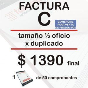 Factura C comercial