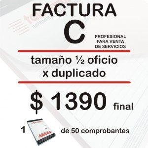 Factura C profesional